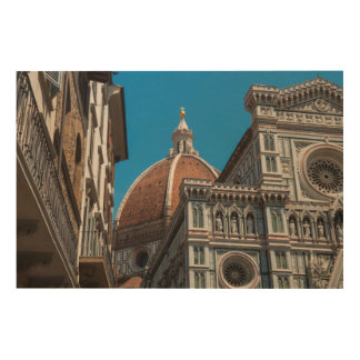 Florence or Firenze Italy Duomo Wood Wall Art