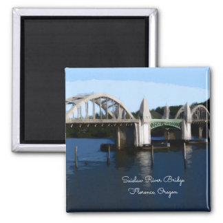 Florence Oregon Suislaw River Bridge Magnet