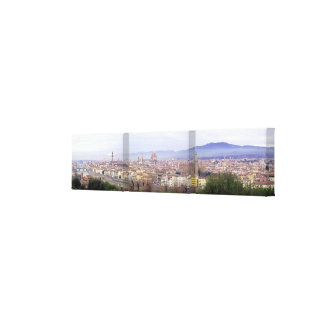 Florence Panoramic Wrapped Canvas