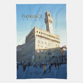 Florence - Piazza della Signoria Kitchen Towel