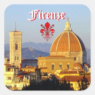 Florence - Santa Maria del Fiore Square Sticker
