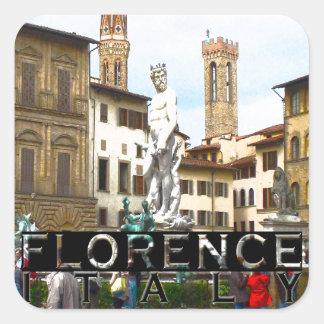 Florence Square Sticker