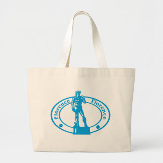 Florence Stamp Large Tote Bag