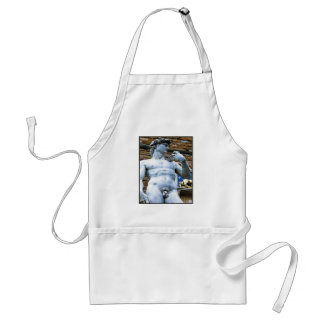 Florence Statue of David With Love Quote Standard Apron