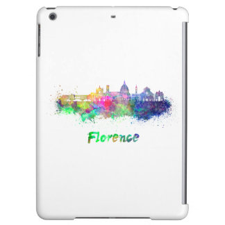Florence V2 skyline in watercolor Case For iPad Air