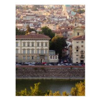 Florence view postcard