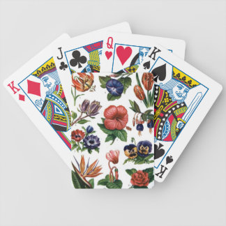 Flores Bicycle Playing Cards