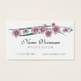 flores business card