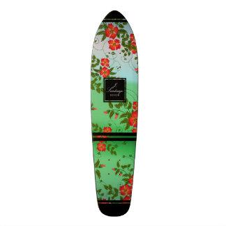 Flores Del Agua Skateboard Deck