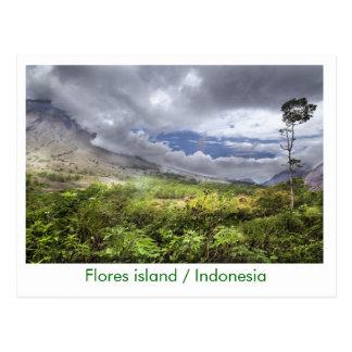 Flores island / Indonesia Postcard