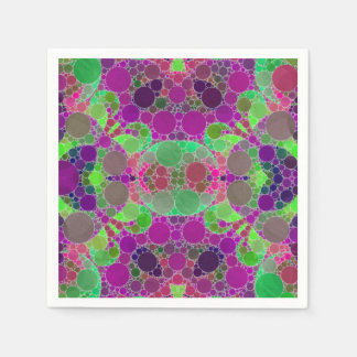 Florescent Beautiful Abstract Paper Napkins