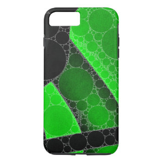 Florescent Green Black Circle Abstract iPhone 7 Plus Case