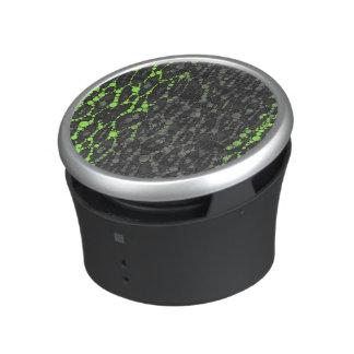 Florescent Green Leopard Print Speaker