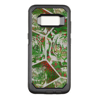 Florescent Green Red Tiger OtterBox Commuter Samsung Galaxy S8 Case
