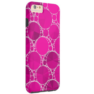 Florescent Pink Bling Tough iPhone 6 Plus Case