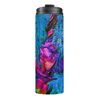 Florescent Pink Floral Surge Thermal Tumbler