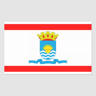 Florianópolis, Brazilian city flag Stickers