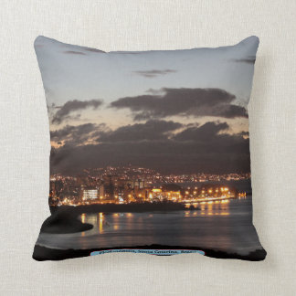 Florianópolis, Santa Catarina, Brazil Throw Pillow