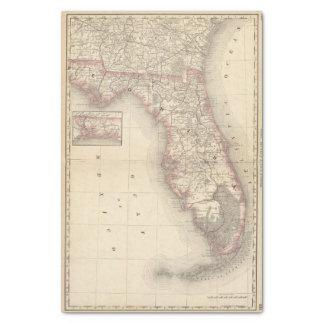 Florida 10 tissue paper