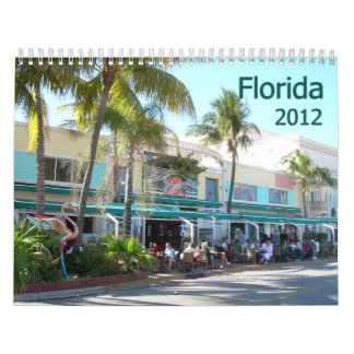 Florida 2012 Calendar