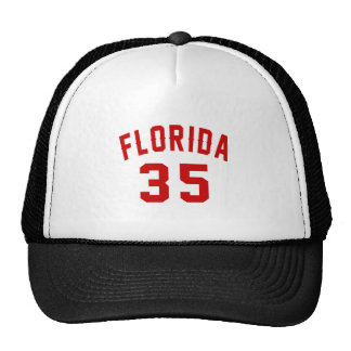 Florida 35 Birthday Designs Trucker Hat