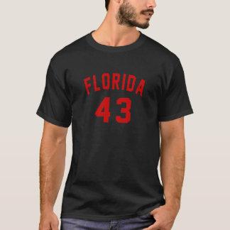 Florida 43 Birthday Designs T-Shirt