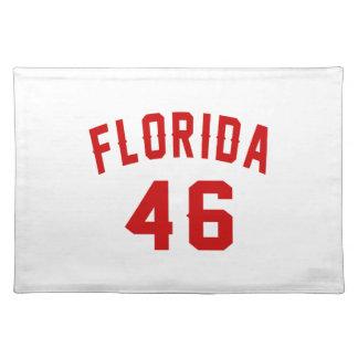 Florida 46 Birthday Designs Placemat