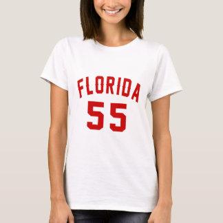 Florida 55 Birthday Designs T-Shirt