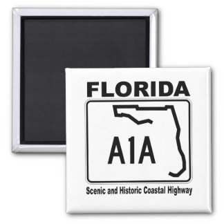 Florida A1A Scenic and Historic Coastal Highway Magnet