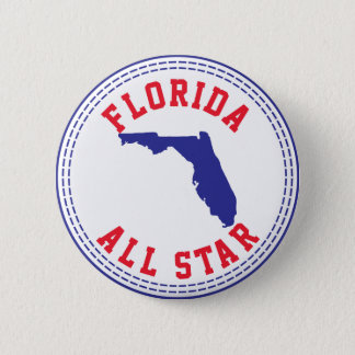 Florida All Star 2 Inch Round Button