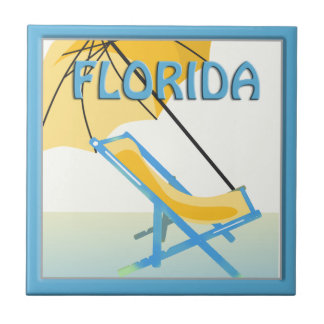 Florida Beach Home Decor Tile