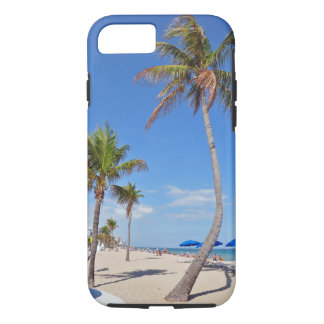 Florida Beach Palm Tree leaning iPhone 7 Case