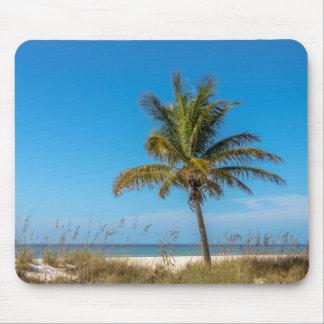 Florida beach palmtree mouse pad