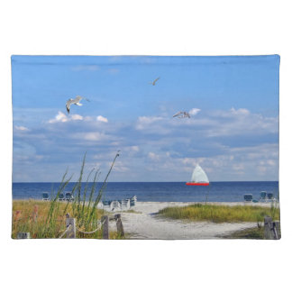 Florida Beach Scene Placemat