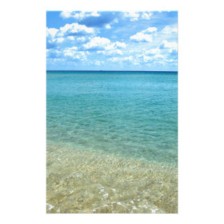 Florida Beach Stationery