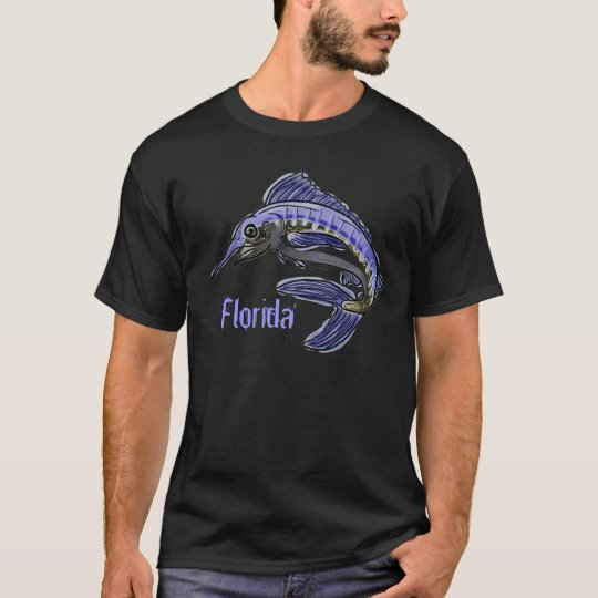 Florida blue marlin guys shirt