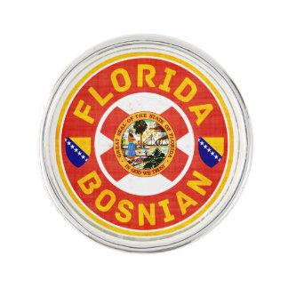 Florida Bosnian American Lapel Button Lapel Pin