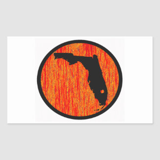 FLORIDA BY SUNSET STICKER