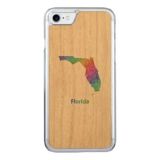 Florida Carved iPhone 7 Case