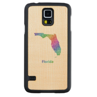 Florida Carved Maple Galaxy S5 Case