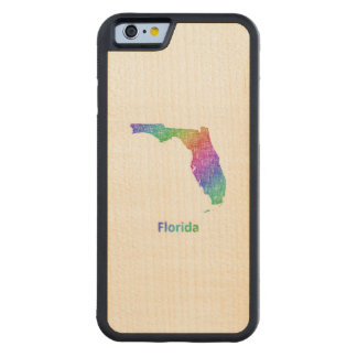 Florida Carved Maple iPhone 6 Bumper Case