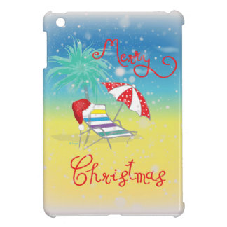 Florida-Christmas Holiday-Whimsical iPad Mini Cases