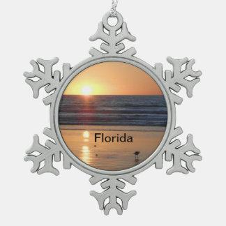 Florida Christmas Tree Ornament