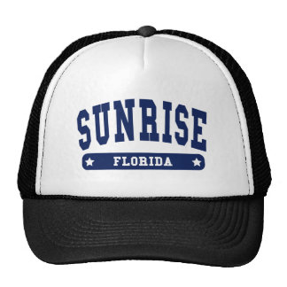 Florida College Style tee shirts Hats