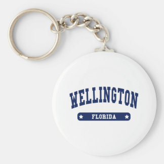 Florida College Style tee shirts Keychain