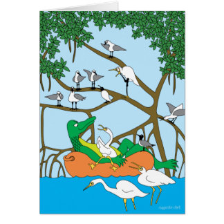 Florida Cruising Greeting Card