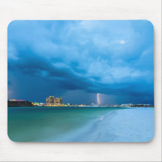florida crystal clear water on the beach mouse pad
