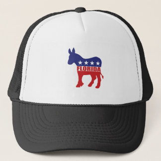 Florida Democrat Donkey Trucker Hat
