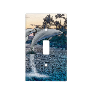 Dolphin Wall Plates & Light Switch Covers | Zazzle ca