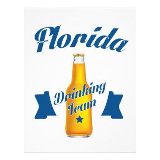 Florida Drinking team Letterhead